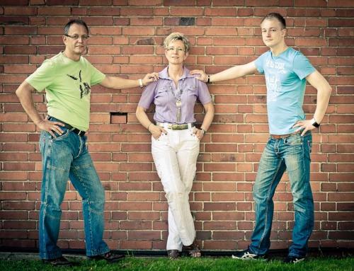 Familienshooting mit Gabi, Christoph und Yannick