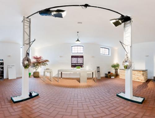 Firma Stadler Edelstahl aus Herford auf der Küchenmeile 2011 auf Gut Böckel