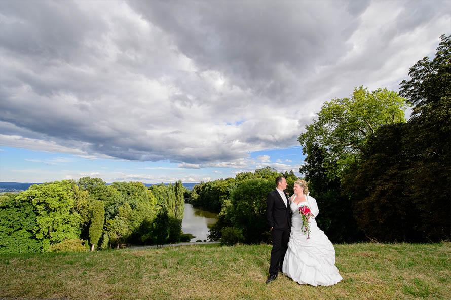 Brautpaarshooting - Als Hochzeitsfotograf in Kassel