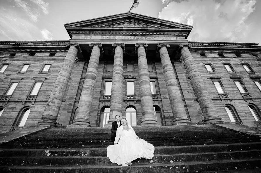 Schloss Wilhelmshöhe - Brautpaar - Hochzeitsfotos