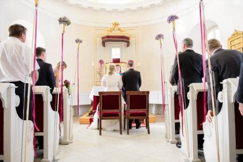Kirchliche Trauung - Hochzeit Schlosskapelle Wilhelmshöhe