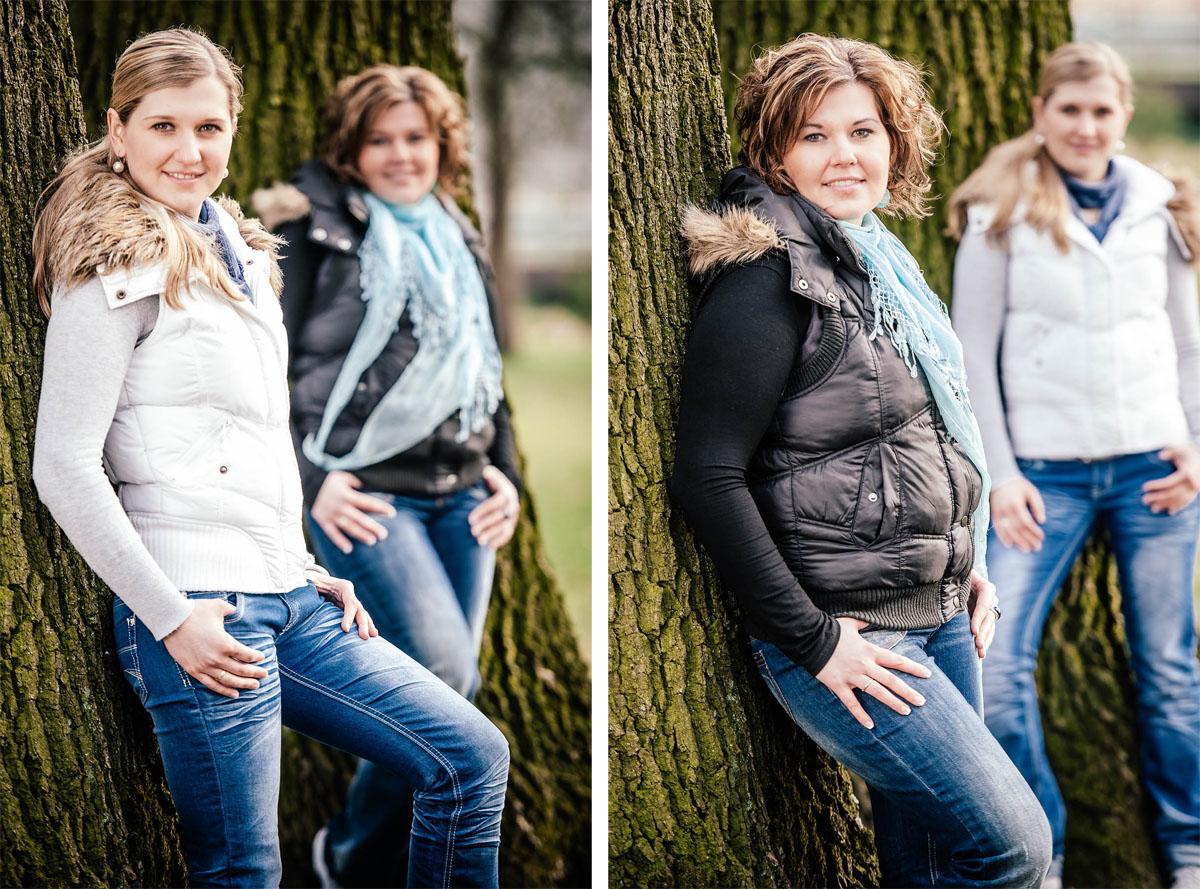 Portraitshooting Outdoor - Geschwister