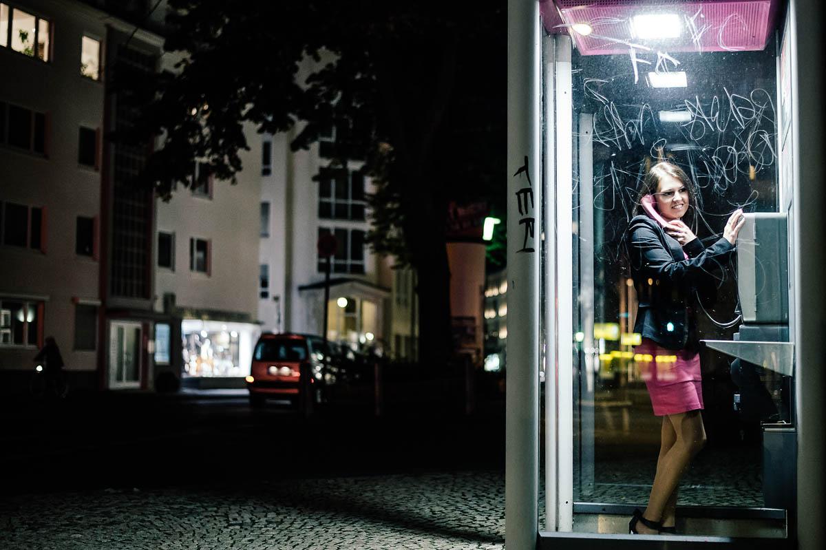 Telefonzelle in Bielefeld