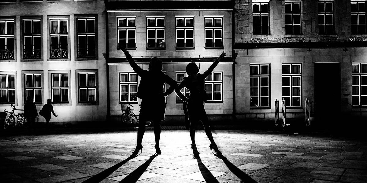 Nachts in Bielefeld - Nachtshooting