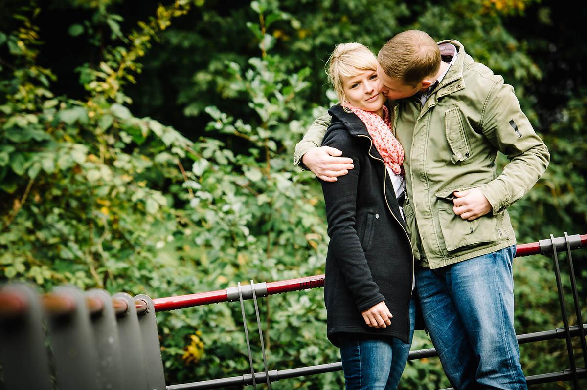 Paar im Stadtpark in Gütersloh