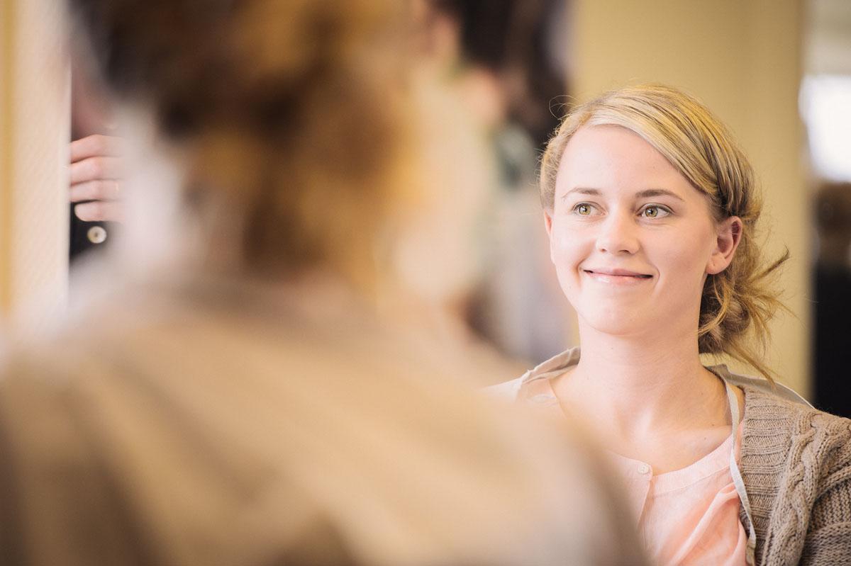 Hochzeitsreportage - Friseur