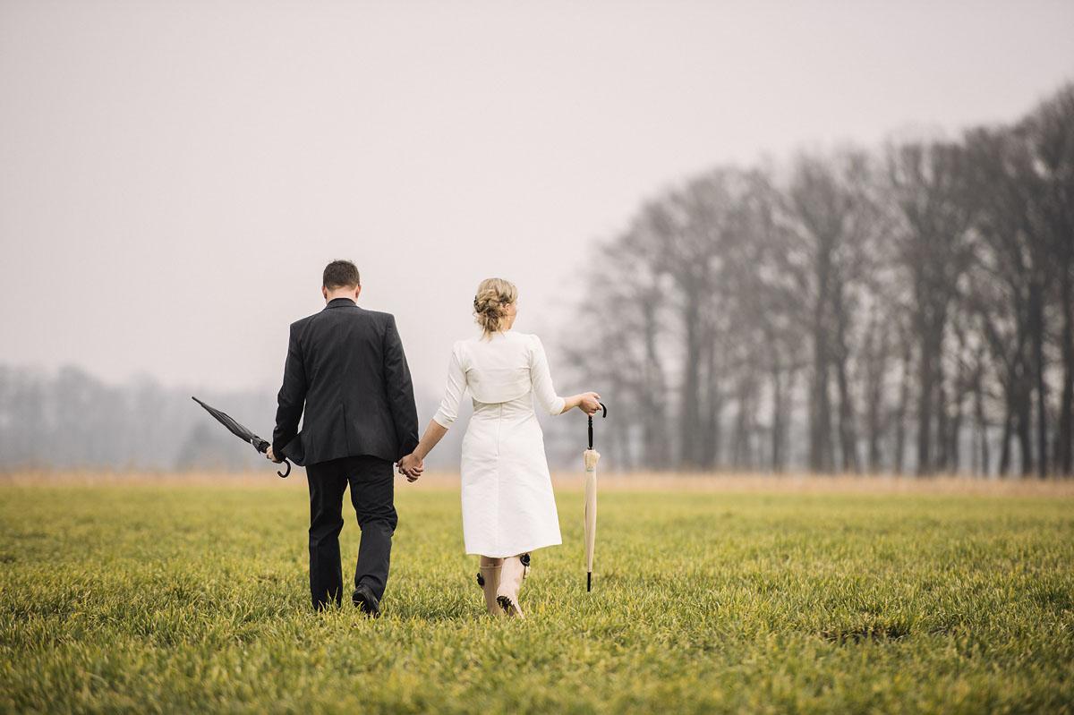 Hochzeitsfotos bei schlechten Wetter