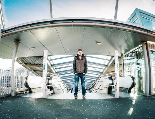 Mit Clemens in Bielefeld – Portraitshooting