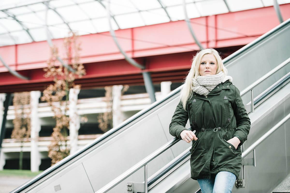 Portraitshooting an der UNI Bielefeld