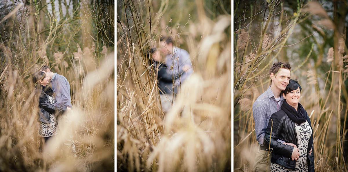 Pärchenshooting - langes Gras