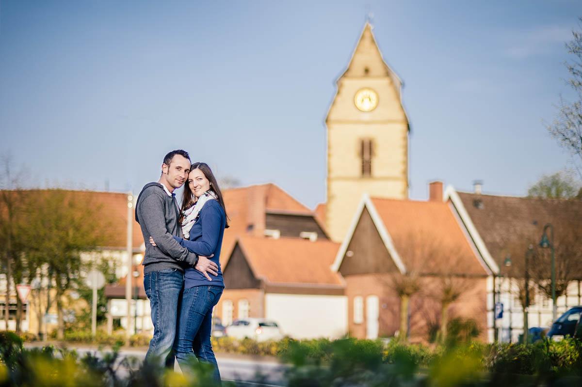 Verlobtenshooting in Steinhagen