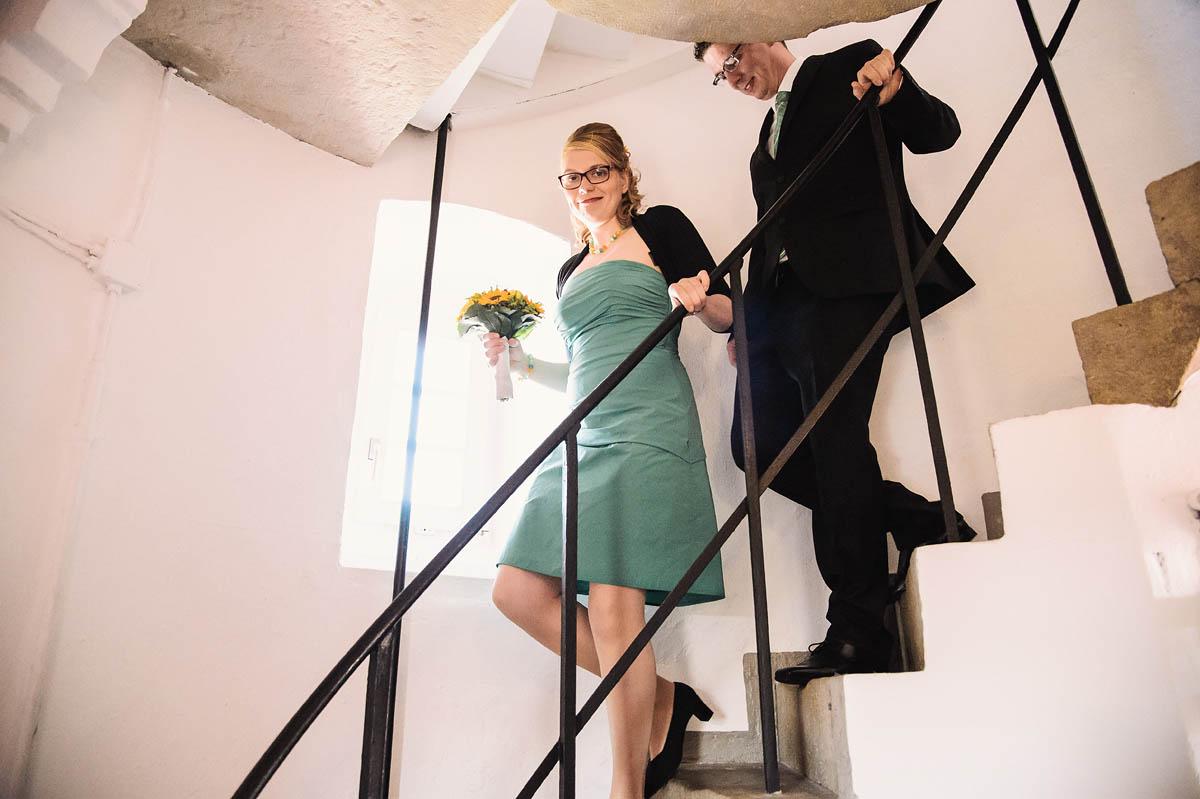 Hochzeitsbilder auf dem Alten Leuchtturm auf Wangerooge