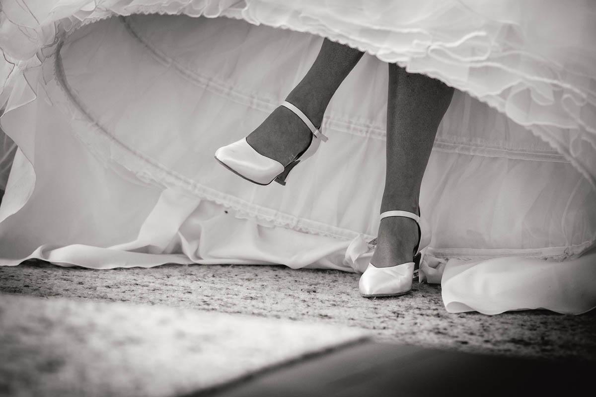 Einblicke Brautkleid