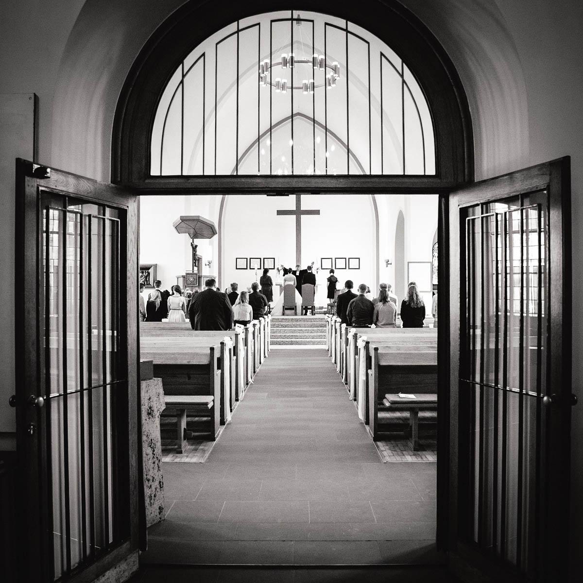 Einblick in die Apostelkirche