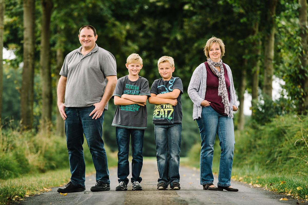 Portraits vom Shooting mit einer Familie aus Borgholzhausen