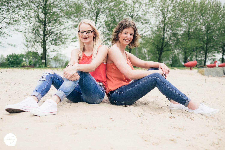 Freundinnen - Fotoshooting