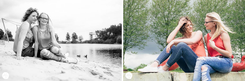 Freundinnen - als Fotograf im Gartenschaupark in Rietberg