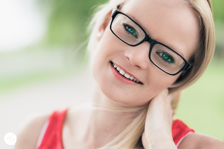 Close-Up Portrait Theresa aus Gütersloh