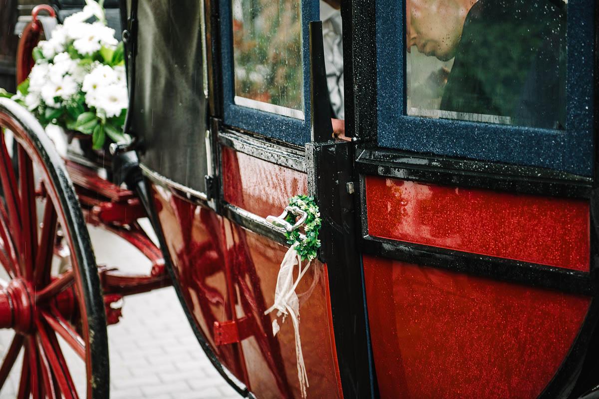 Details Hochzeitskutsche