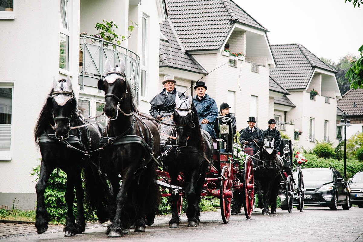 Hochzeitskutsche in Verl aus Hörstel