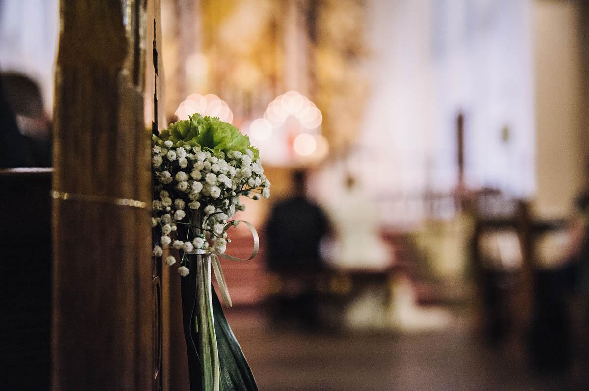 Blumedekoration - St. Anna Kirche in Verl