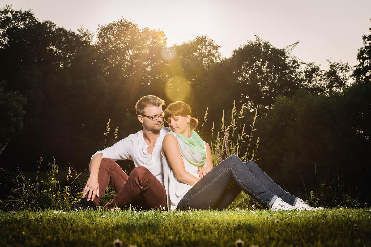 Paarfotos - untergehende Sonne - Gegenlicht mit dem Ranger Quadra