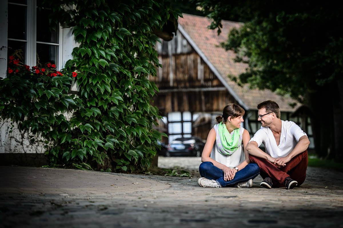 Hochzeitsvorbereitung - Probeshooting in Gütersloh
