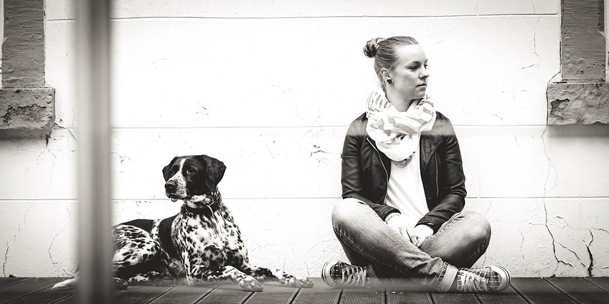 Mensch und Hund Portraits