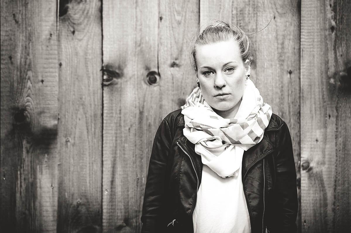 Portraits in schwarz weiß