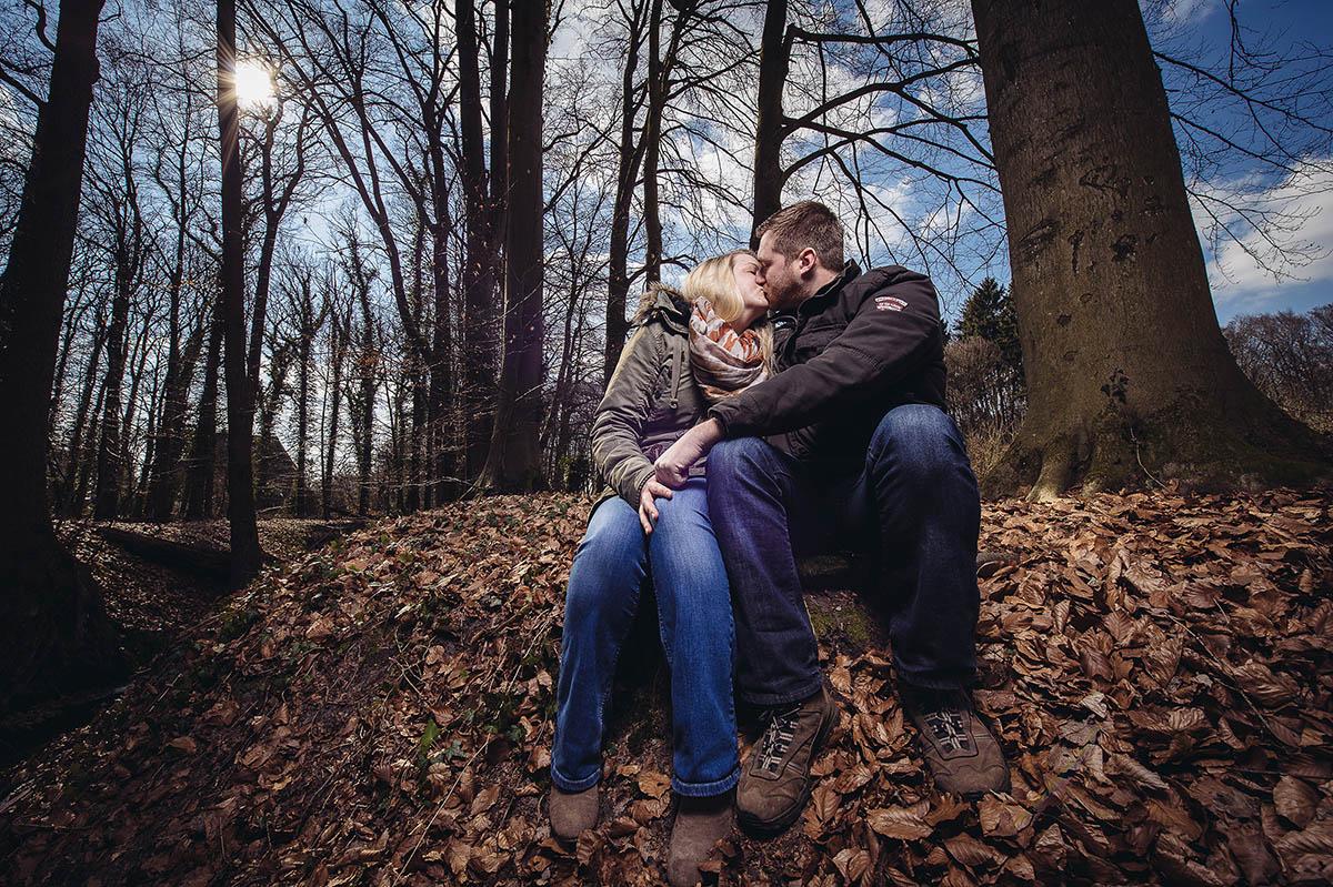 Romantisches Verlobtenshooting